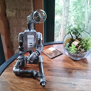 daydreamer industrial lamp