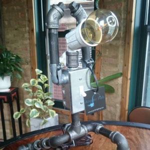 robot warrior one industrial lamp